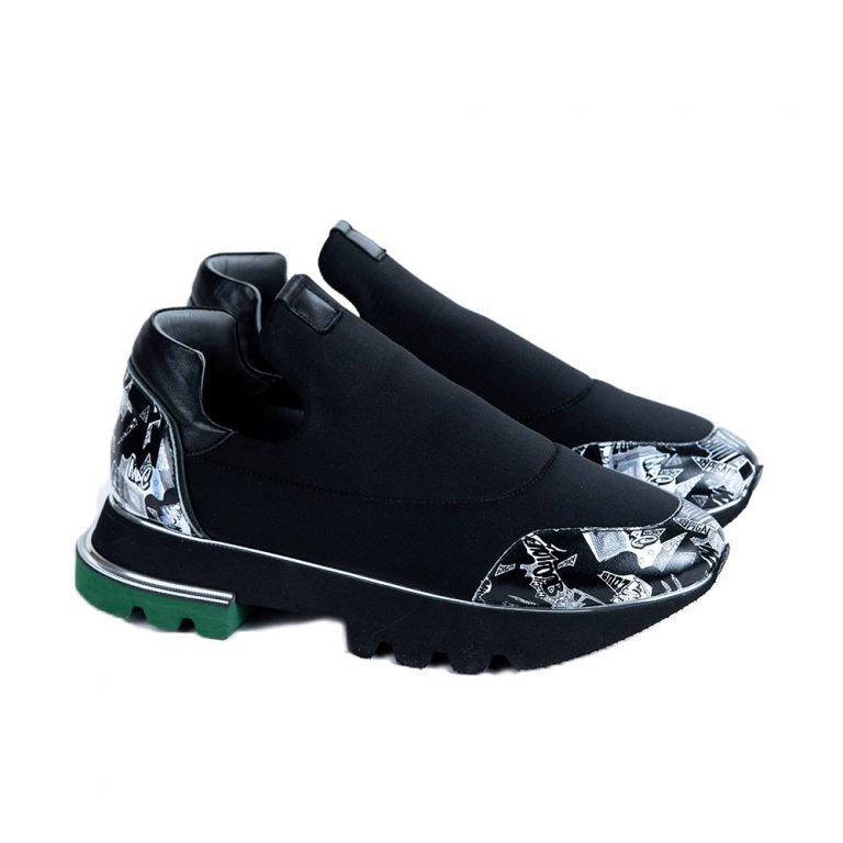 סניקרס עור - נעלי עור
